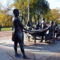 скульптурный комплекс в СПб :: Наталия П