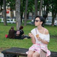 Вкусное мороженое :: Андрей Майоров