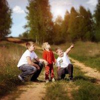 три братика :: Олька Никулочкина