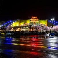 Дождливая ночь в городе :: Victoria Ditkovsky