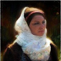 Жанровый женский портрет :: Станислав Лебединский