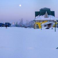 Станция детской железной дороги. Кемерово, март :: Edward Metlinov