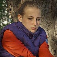 Портрет дочери :: Александр Лебедевъ