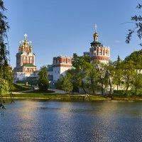 Прогулка у древних стен Новодевичьего монастыря. :: Александр Лебедевъ