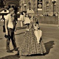 Прошлое в настоящем :: Анастасия Алёшина