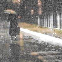 Уходящая в дождь :: люба