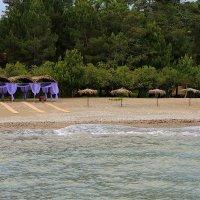Пляж в п. Мюссер (Абхазия) :: Лариса Савченко
