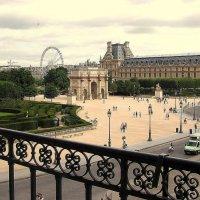 из окна Лувра :: Ольга