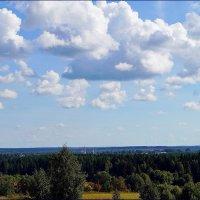 Облака над Лальском :: Наталья Зимирева