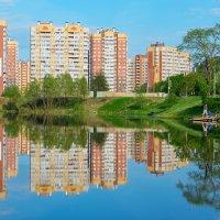 Многоэтажная окраина. :: Сергей Бурлакин