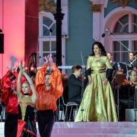 Солистка Большого театра Агунда Кулаева :: Юрий Тихонов