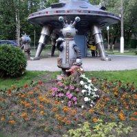 Забавные игрушки в Подмосковном городе Люберцы. :: Ольга Кривых