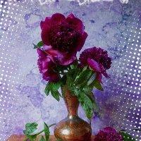 Индийская ваза с пионами :: Nina Yudicheva