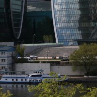 Москва Сити со стороны Москва реки. :: Сергей Кухаренко