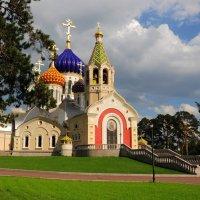 Храм в Переделкино. 28.05.2016г :: Виталий Виницкий