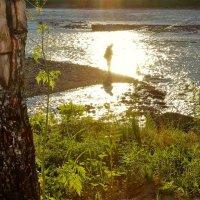 Рыбак и солнце :: Сергей Чиняев