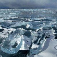 Бесконечно-прекрасный лед Байкала :: Нина