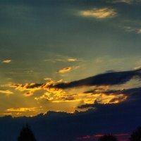 Вечерние облака :: Елена Белинская