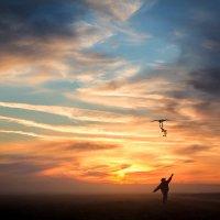 Там, где всегда алый-алый закат... :: Ольга Кузьмина