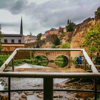 Luxembourg under rain :: Alena Kramarenko