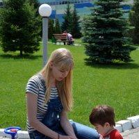 Малыш познает мир. :: Anna Gornostayeva