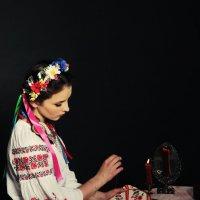 Украинская девушка, Оксана из Вечеров на хуторе близ Диканьки :: Светлана Курцева