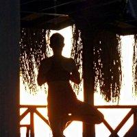 Асана на восходе солнца :: Асылбек Айманов