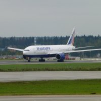 "Боинг 777 "" Трансов"" идёт на взлёт.. :: Alexey YakovLev"