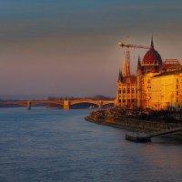 Закат на Дунае :: M Marikfoto