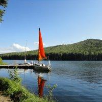 озеро Тургояк,у острова Веры :: Валерий Конев