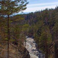 Ущелье горной реки :: Анатолий Иргл