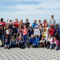 Группа спортсменов в Анапе :: Денис Усиков