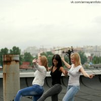 Веселье на крыше :: Анна Янн