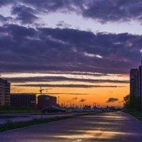 Вечер после дождя . :: юрий Амосов