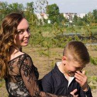 Мама и сын :: Светлана Ку