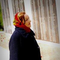 Дочь погибшего солдата :: Нина