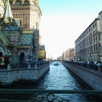 Белые ночи Петербурга.Канал Грибоедова. :: Жанна Викторовна