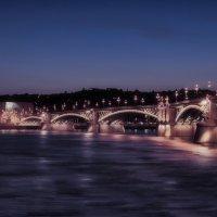 Ночной мост Маргарет. :: михаил