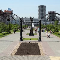Сквер :: Дмитрий Арсеньев