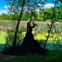 образ черной дамы :: Natalia Roshchektaeva