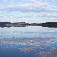 Отразилась вода в небе :: val-isaew2010 Валерий Исаев
