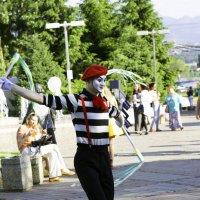 Танец мима :: Вадим Кулаев