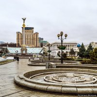 Площадь Независимости - Киев :: Богдан Петренко