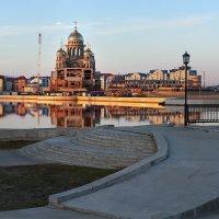 Строящийся храм Преображения Господня (Салехард) :: Фёдор Воронов