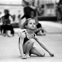 Юная гимнастка :: Борис Александрович Яковлев