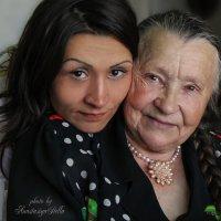Олеся с Бабуличкой :: Anastasia Stella