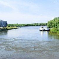 Слияние реки Оми и Иртыша :: раиса Орловская