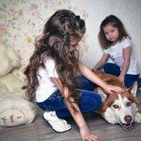 Девчули с Арчи :: Виктория Андреева