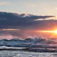 Закат на Балтийском море :: Анна Беликова