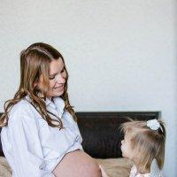 Домашняя фотосессия беременных :: Наталья Карпова